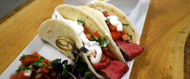 MTCC flank steak tacos