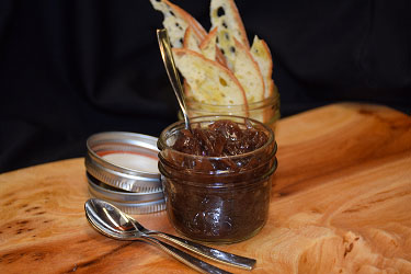 Chef Duff's Crostini and Onion Bacon Jam